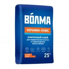ВОЛМА Сухая смесь цементно клеевая Волма-Керамик плюс (25кг)