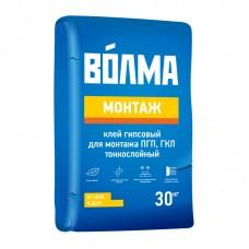 ВОЛМА-монтаж Смесь сухая гипсовая монтажная (30кг)